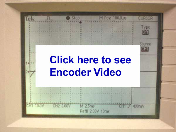YouTube Video How to Time BLDC motor Back EMF to Optical Encoder Hall Phasing