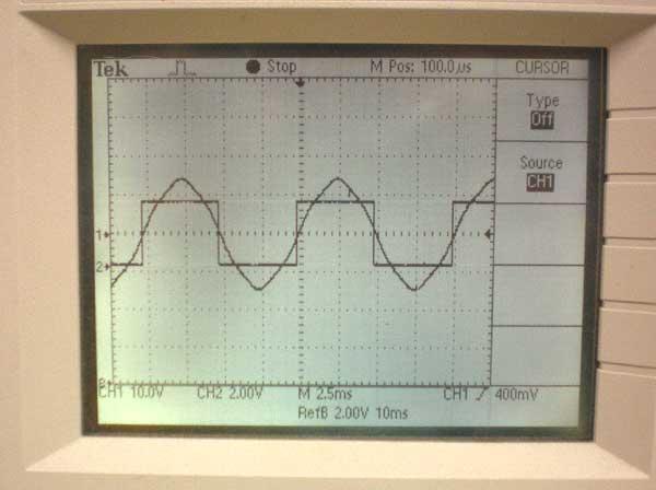 Optical Encoder Brushless DC Motor Timing Using Back EMF