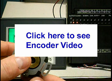 Quantum Devices' YouTube Video on hot to decode direction of an optical encoder using Ladder Logic