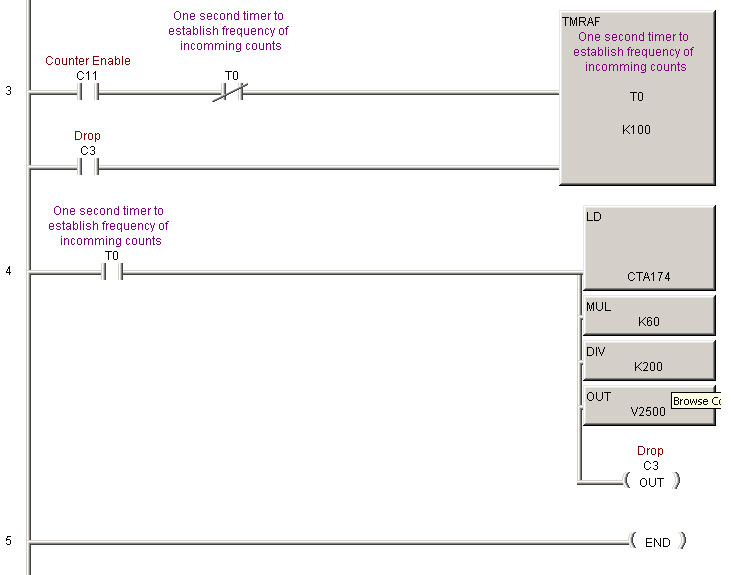 how to calculate rpm from encoder pulses