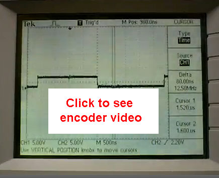 Finding the RPM of an Optical Encoder using an Oscilloscope