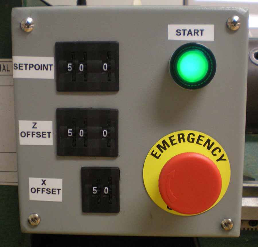 incremental encoder lathe automation