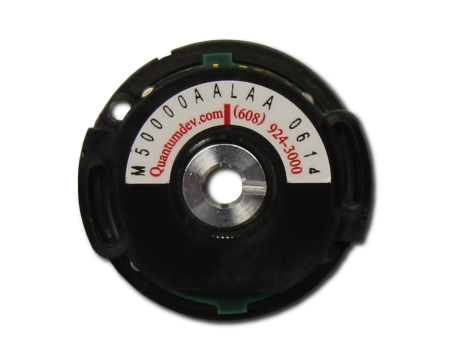 QM35 incremental optical rotary encoder manufactured by Quantum Devices